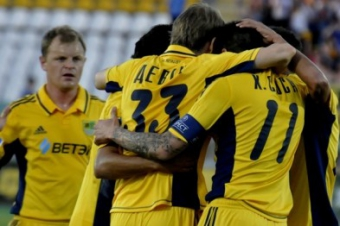 Metalist  was released in the play-off round of the Champions League