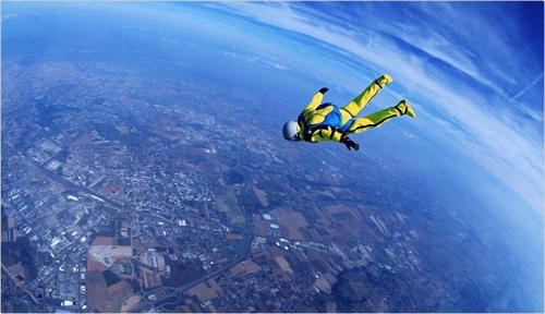 Kharkiv will be able to make a parachute jump
